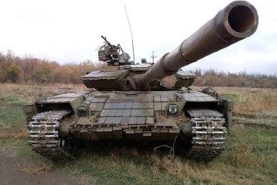 Модель среднего танка Т-64БВ